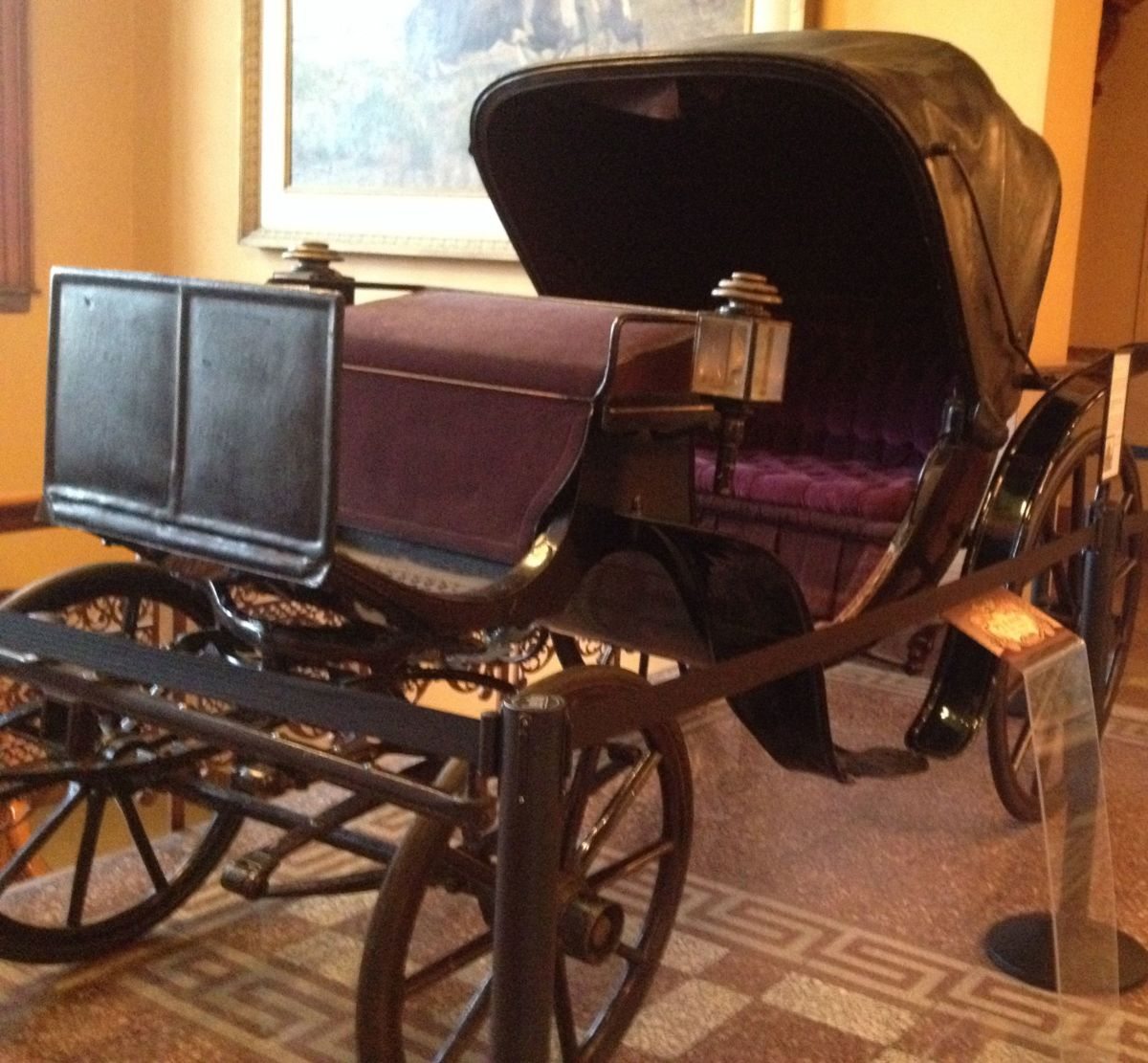 Carriage at the Colorado Springs Pioneers Museum
