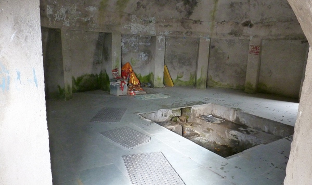 Inside View of Beas temple