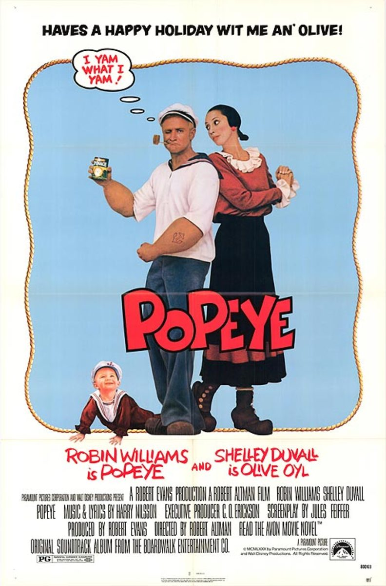 Popeye Movie Poster