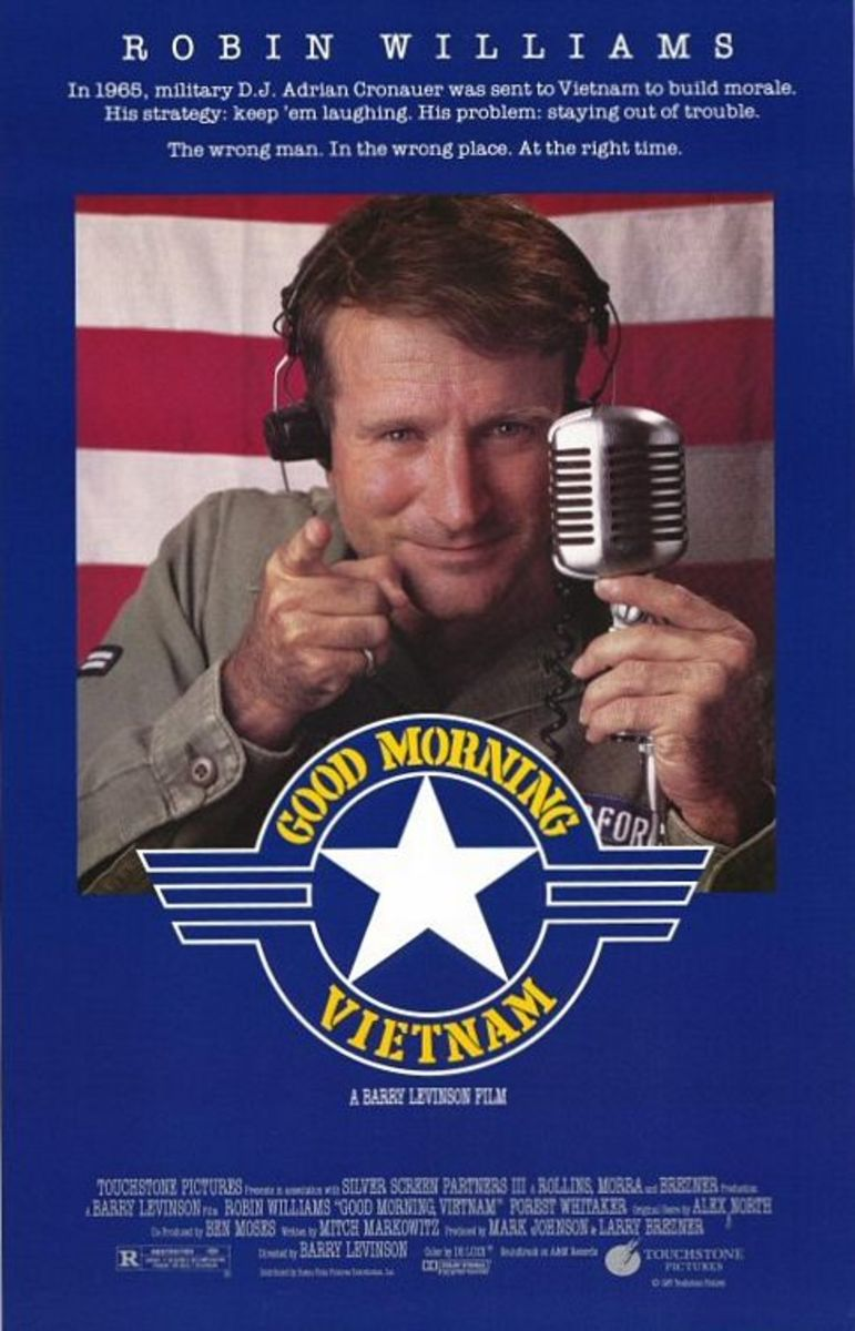 Good Morning Vietnam Movie Poster