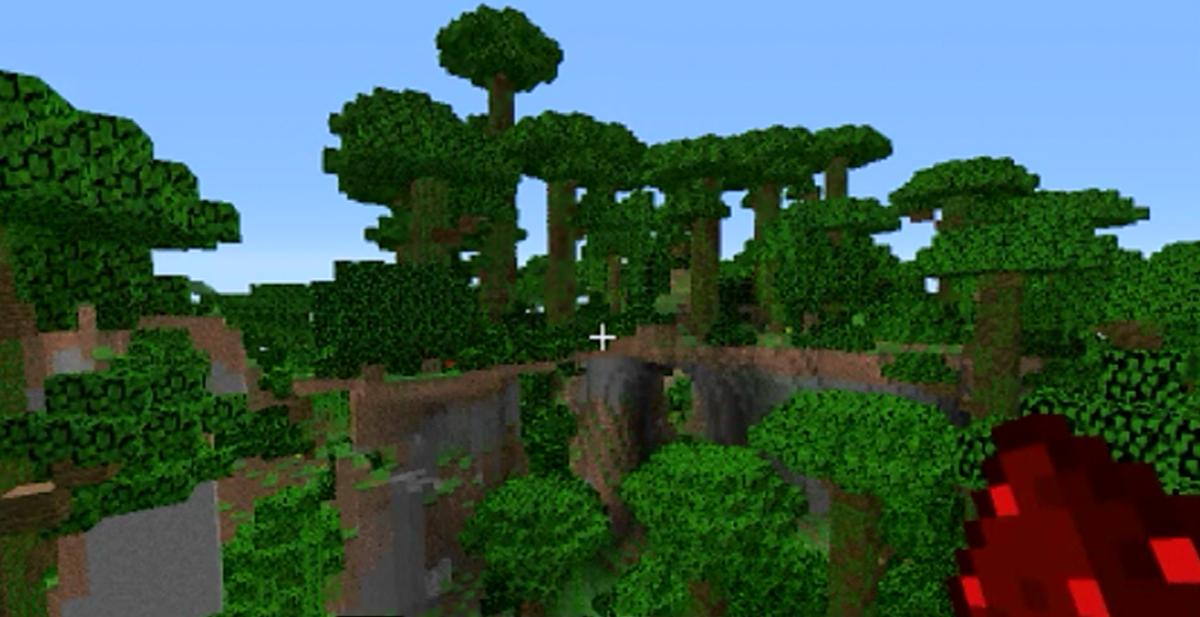 comment trouver une jungle dans minecraft 1.8