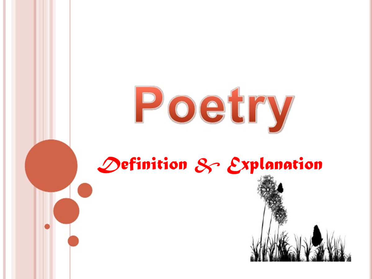 Poetry: Definition & Explanation