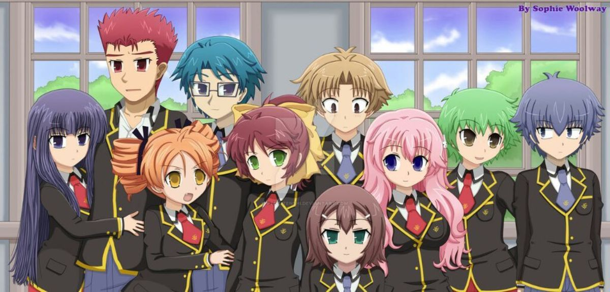 Baka to Test to Shoukanjuu (Baka & Test - Summon the Beasts)