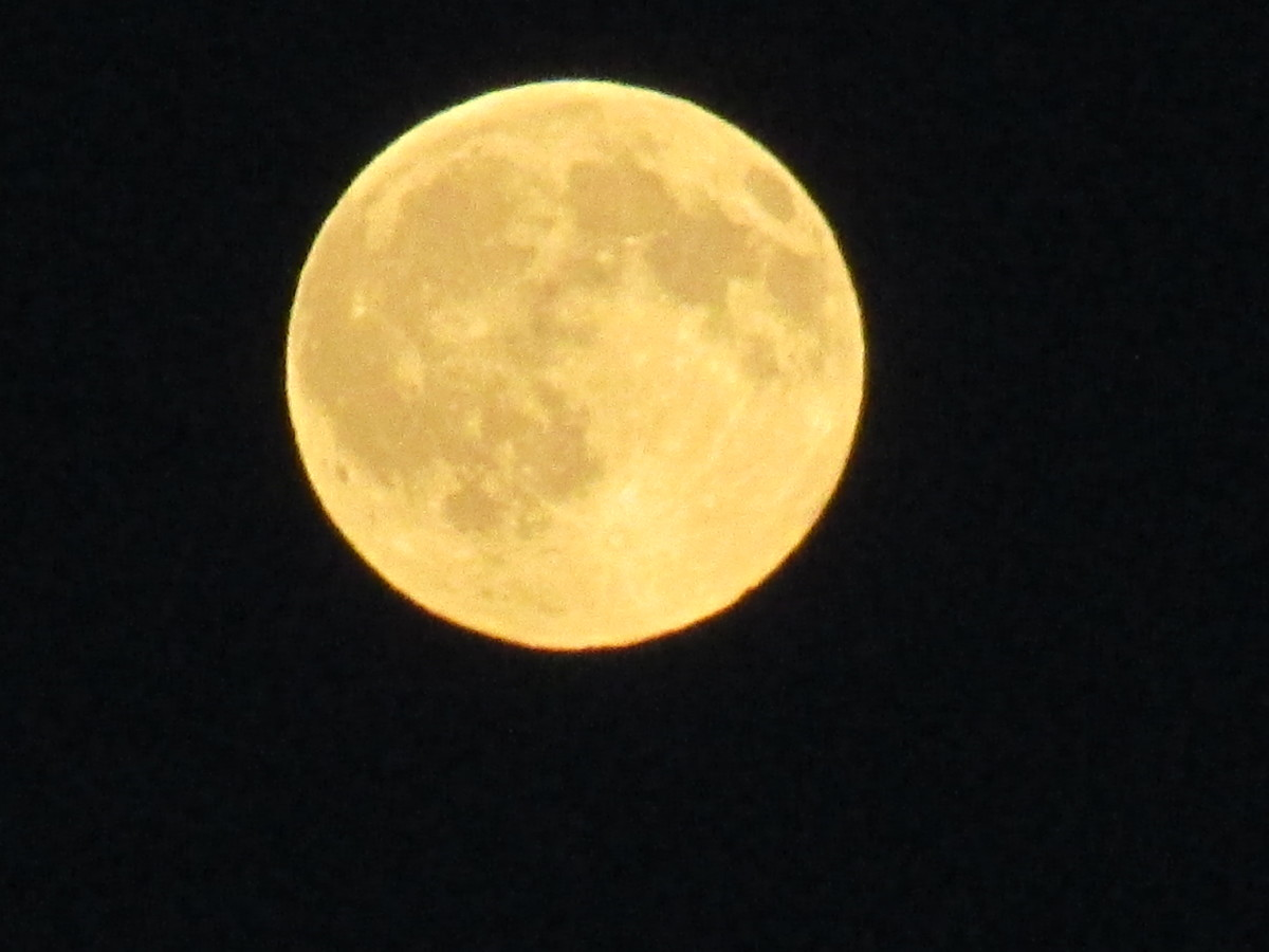 Full Moon July 2016