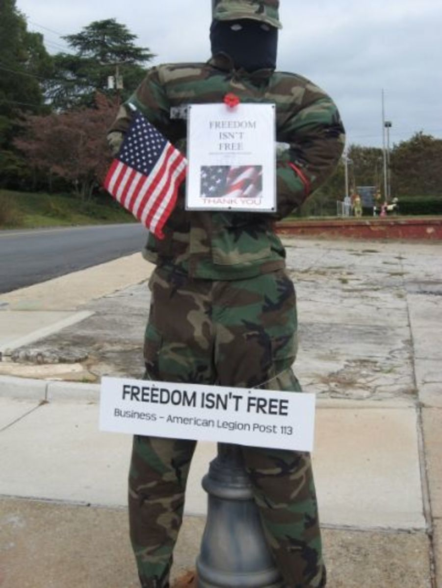American Legion Post 113 - Freedom Isn't Free
