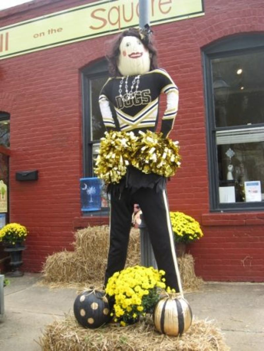 Still On The Square - Penny The Pendleton Cheerleader - Honorable Mention