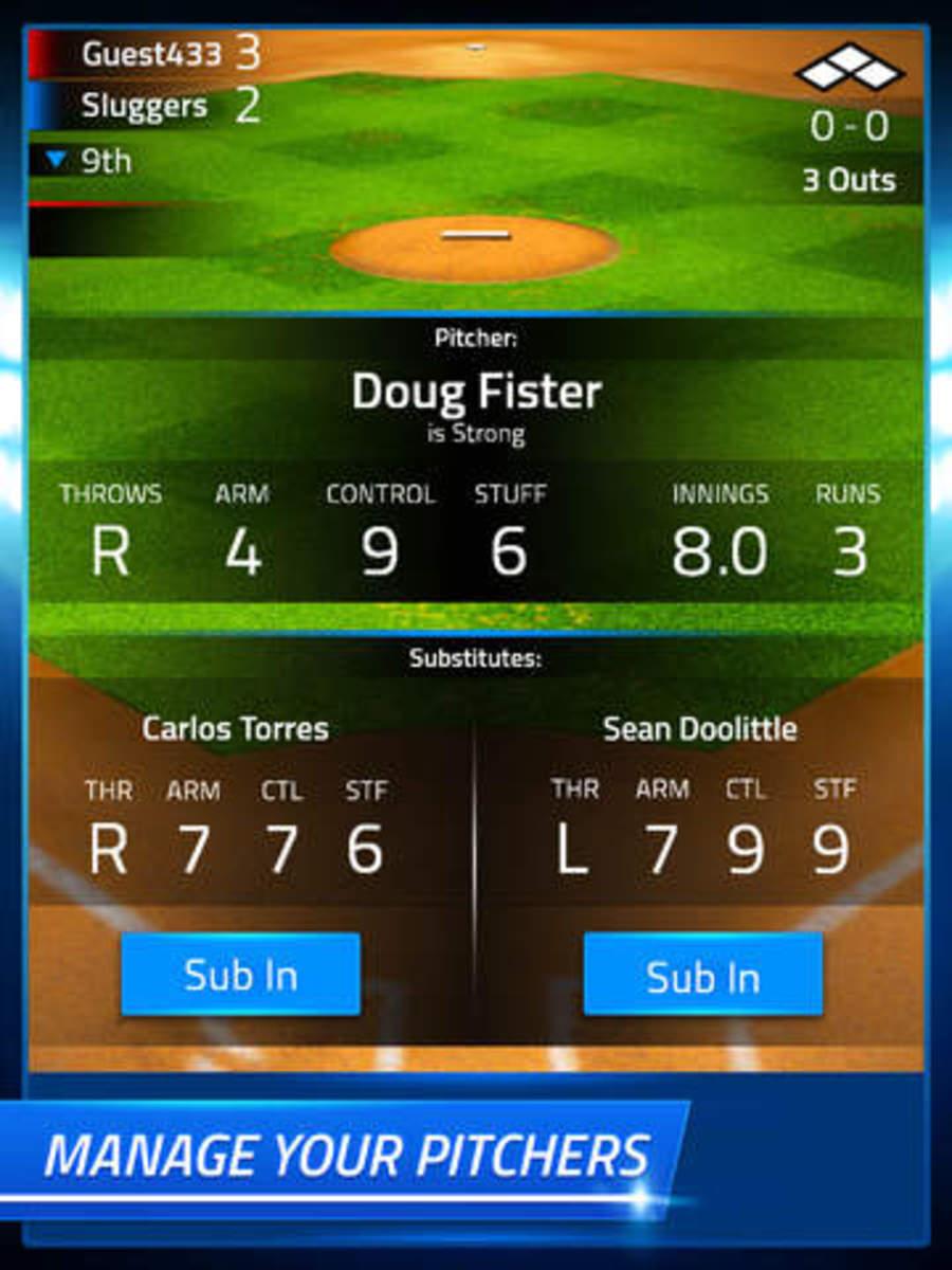 Tap Sports Baseball Pitching