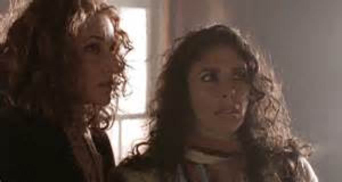 Ellen Sandweiss and Felissa Rose are stranded in Satan's Playground