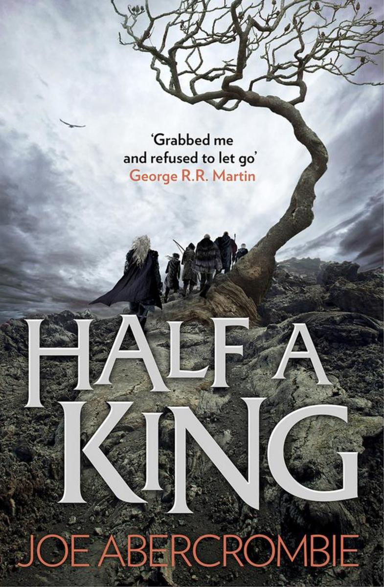 Alternate cover of Half a King.