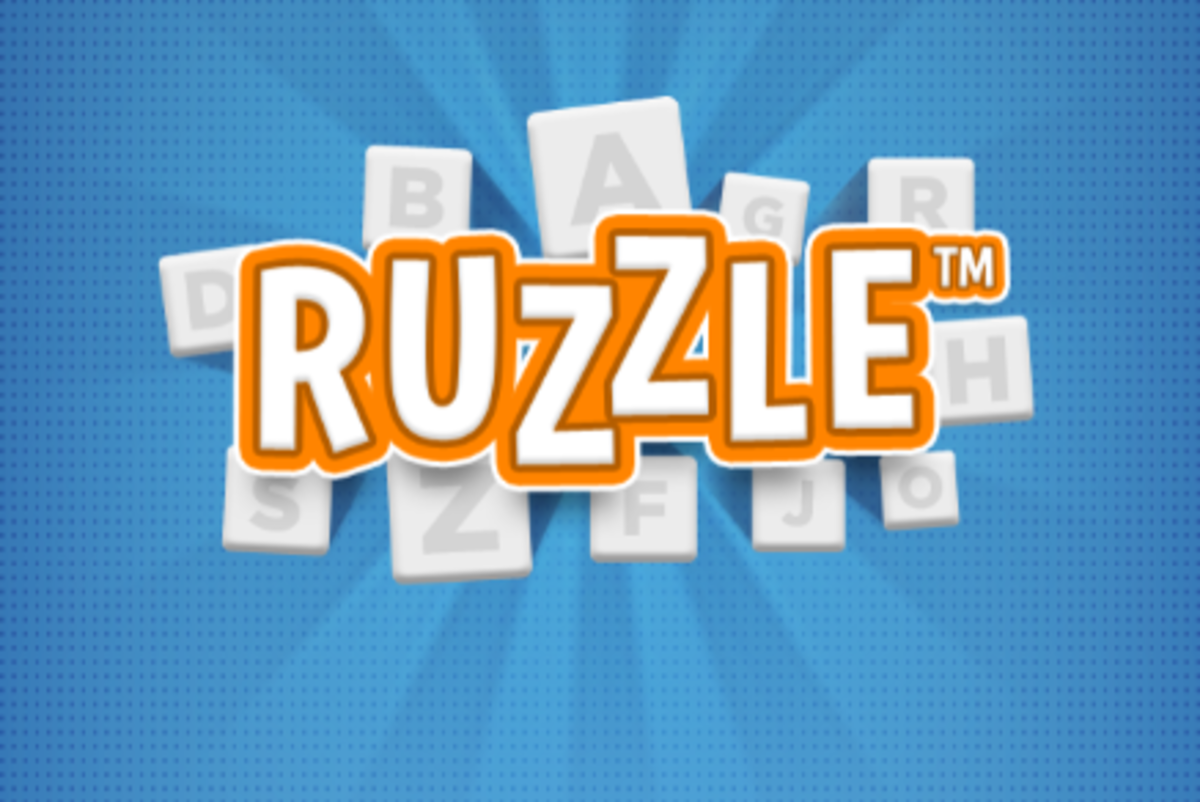 Play Ruzzle online for free