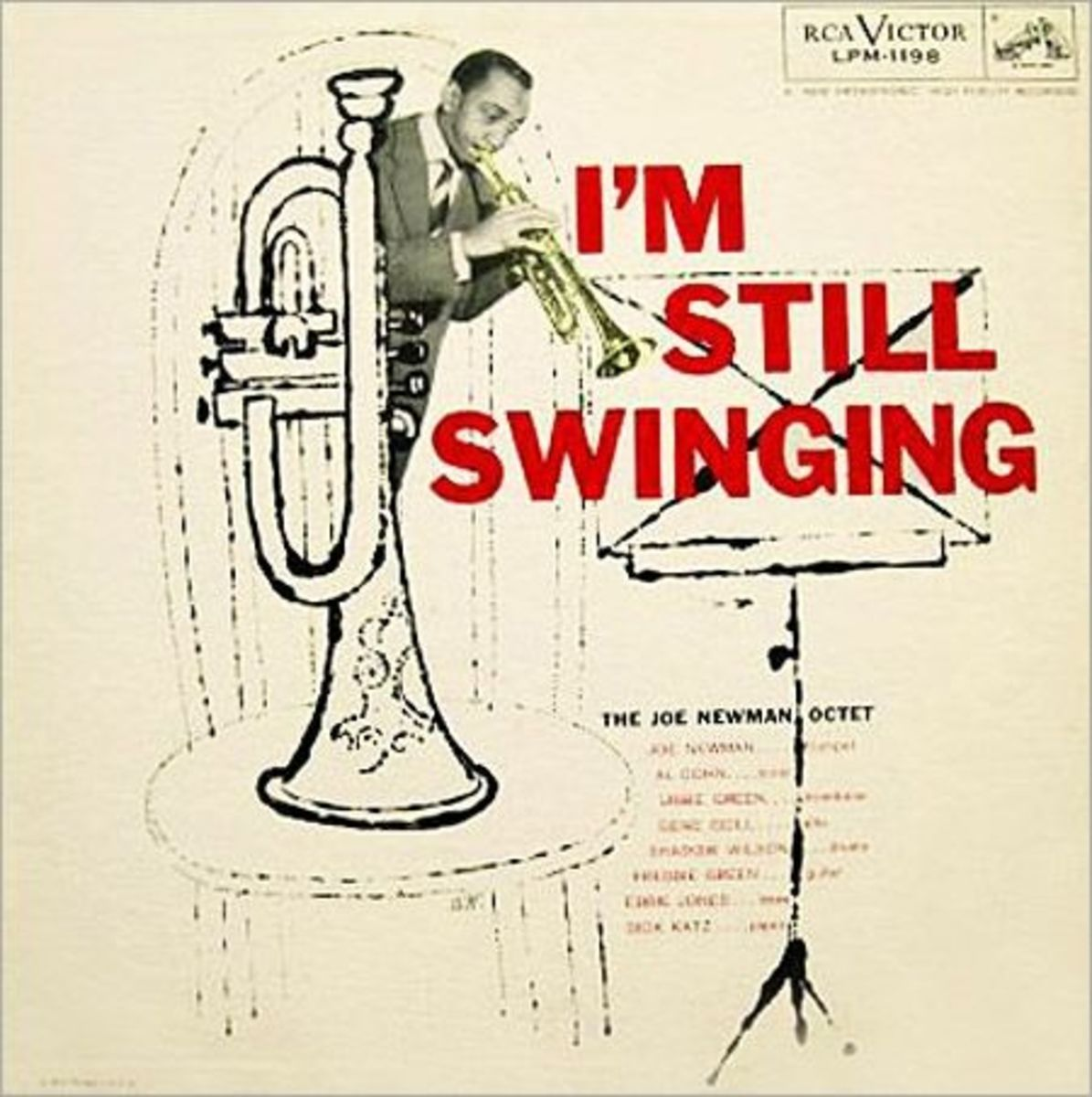 "Joe Newman ""I´m Still Swinging"" RCA Victor 1198 12"" LP Vinyl Record, Album Cover Art and Design by Andy Warhol"