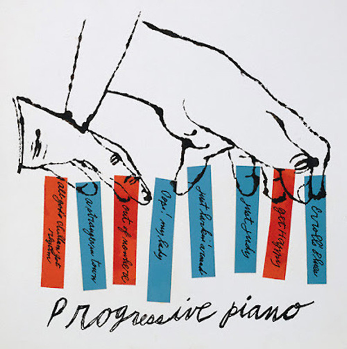 "Various Artist ""Progressive Piano"" RCA Victor 12"" LP Vinyl Record, Album Cover Art and Design by Andy Warhol"
