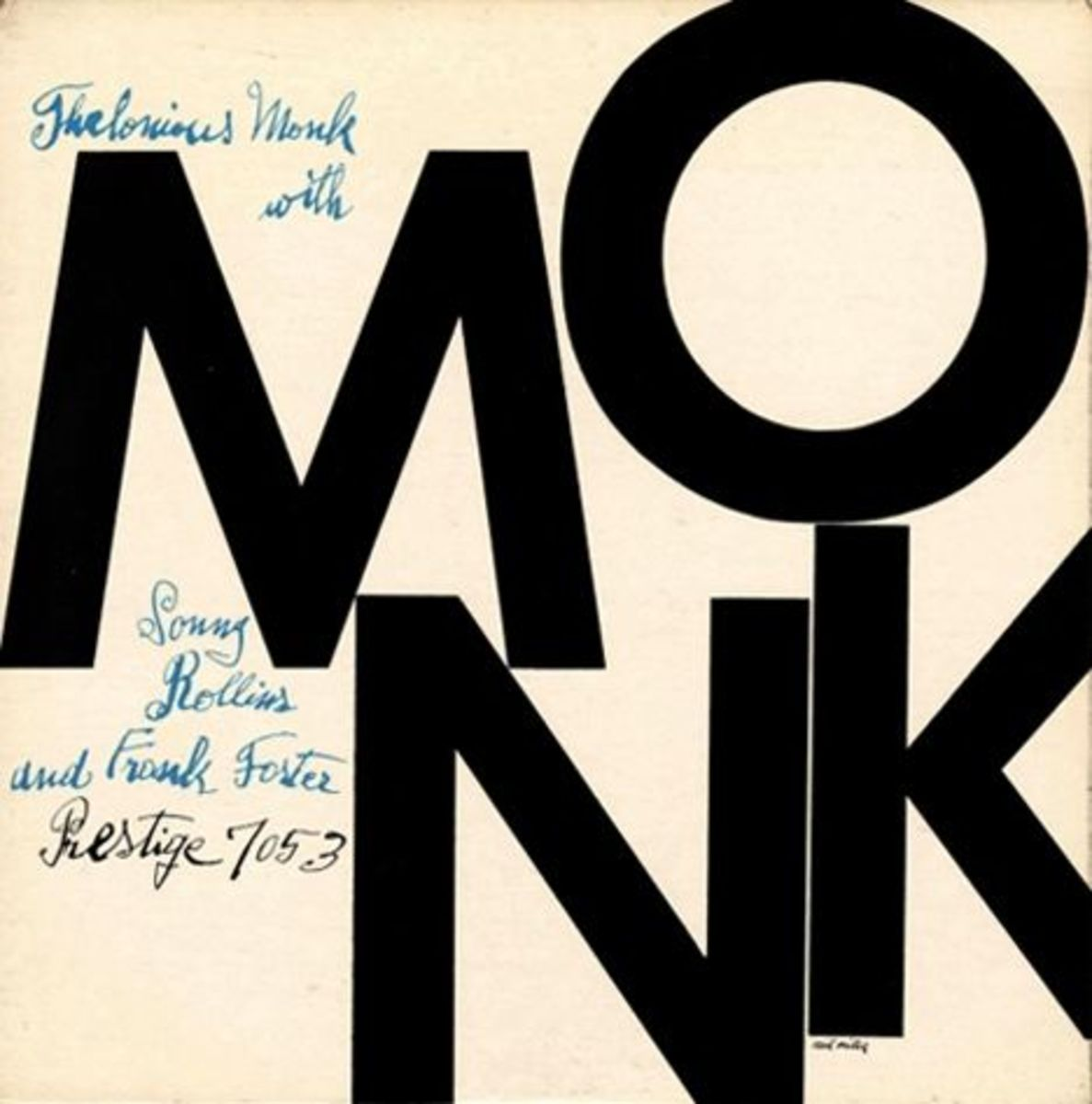 "Thelonious Monk with Sonny Rollins and Frank Foster Prestige Records 7053.12"" LP Vinyl Record with Album Cover Art by Andy Warhol"