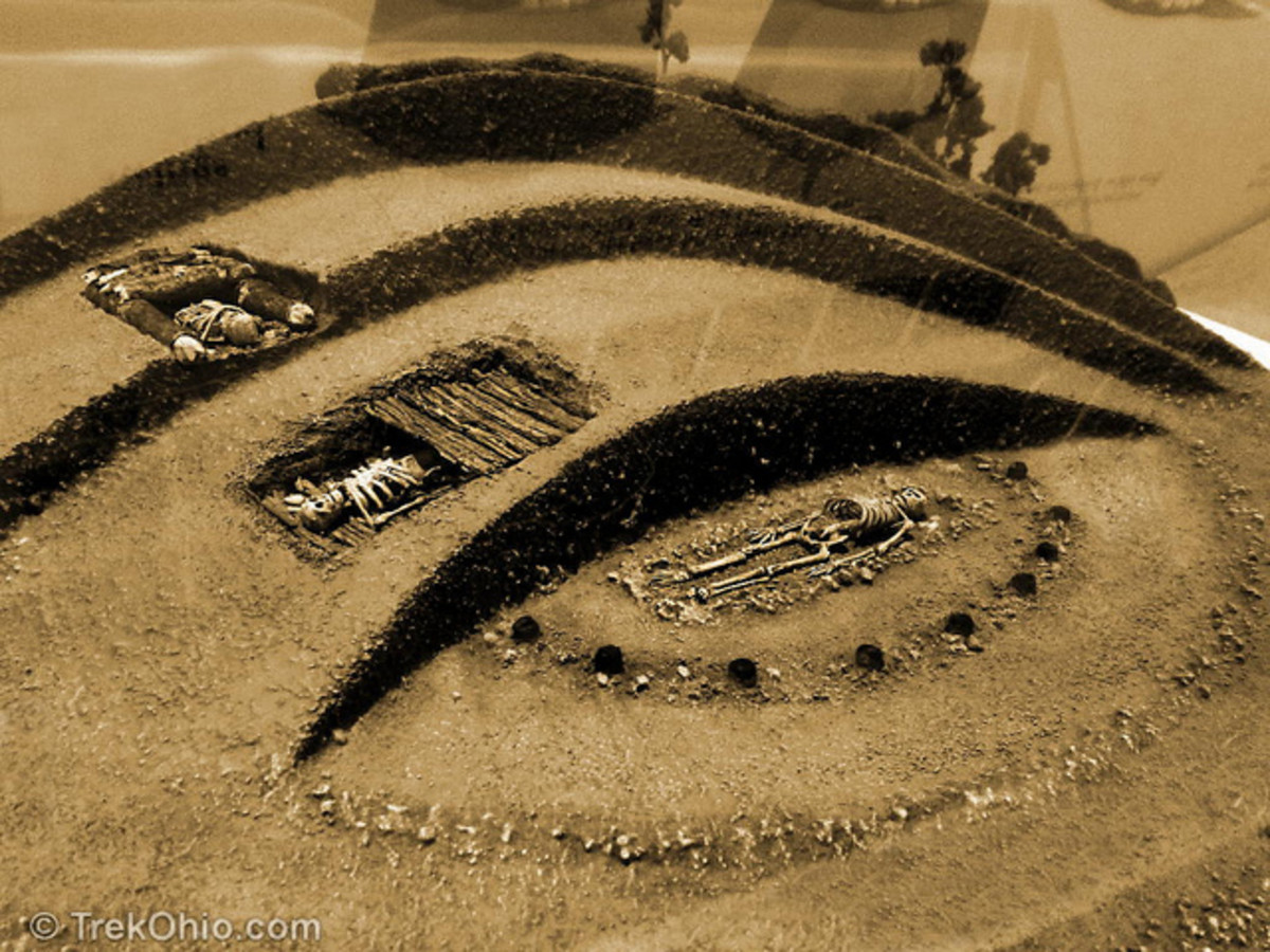 Burial Mounds Ohio