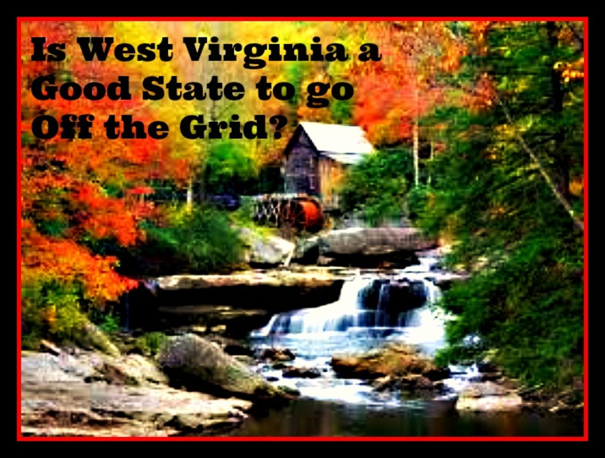 Is West Virginia a Good State to go Off the Grid?