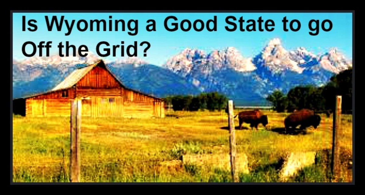 Is Wyoming a Good State to go Off the Grid?