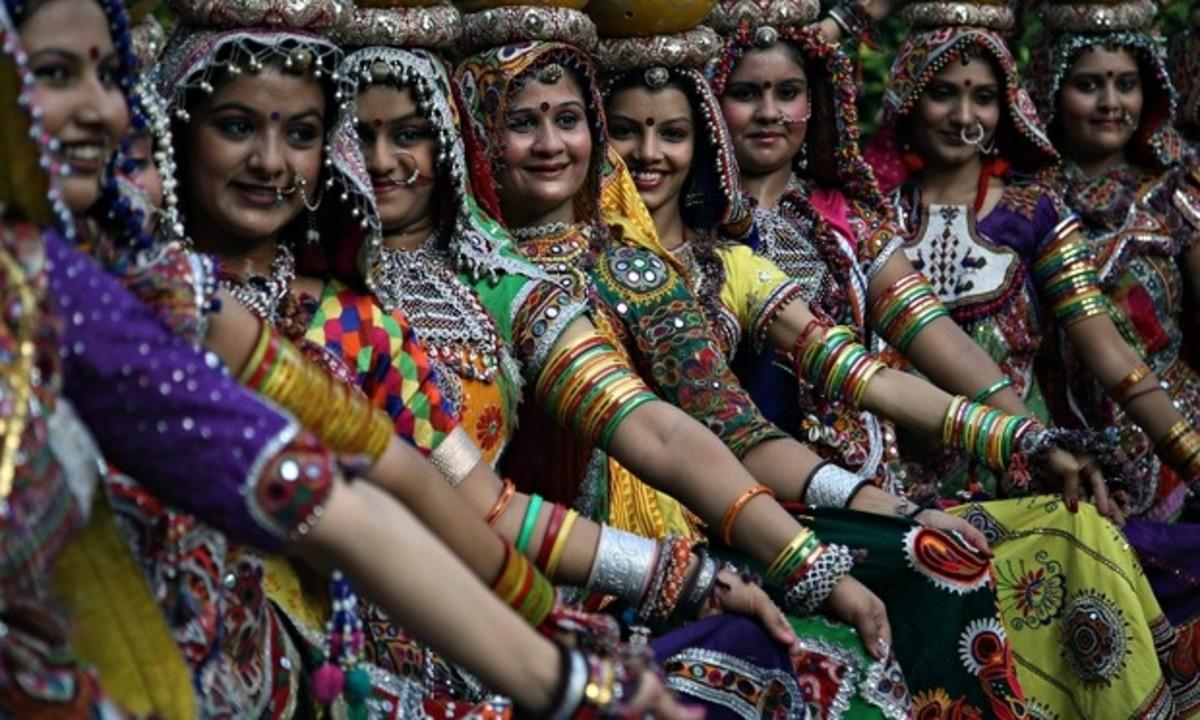 Navratri dance and music festival