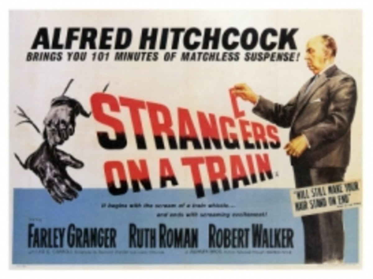 Hitchcock film - Strangers on a Train