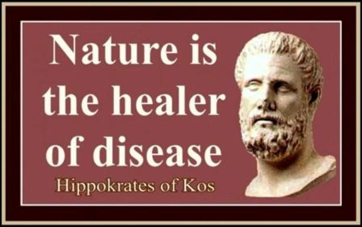 Hippocrates used copper for healing