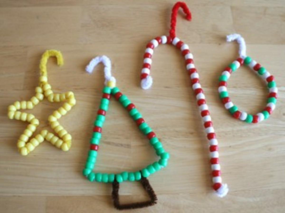 Kids Christmas Craft Ornaments for Christmas TRee