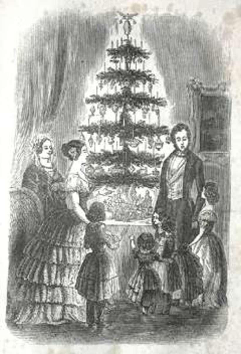 Old Christmas Tree, Christmas Tree History