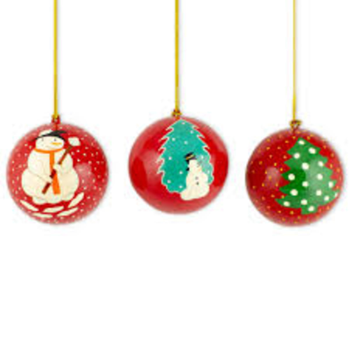 Cute Ball Christmas Tree Ornaments