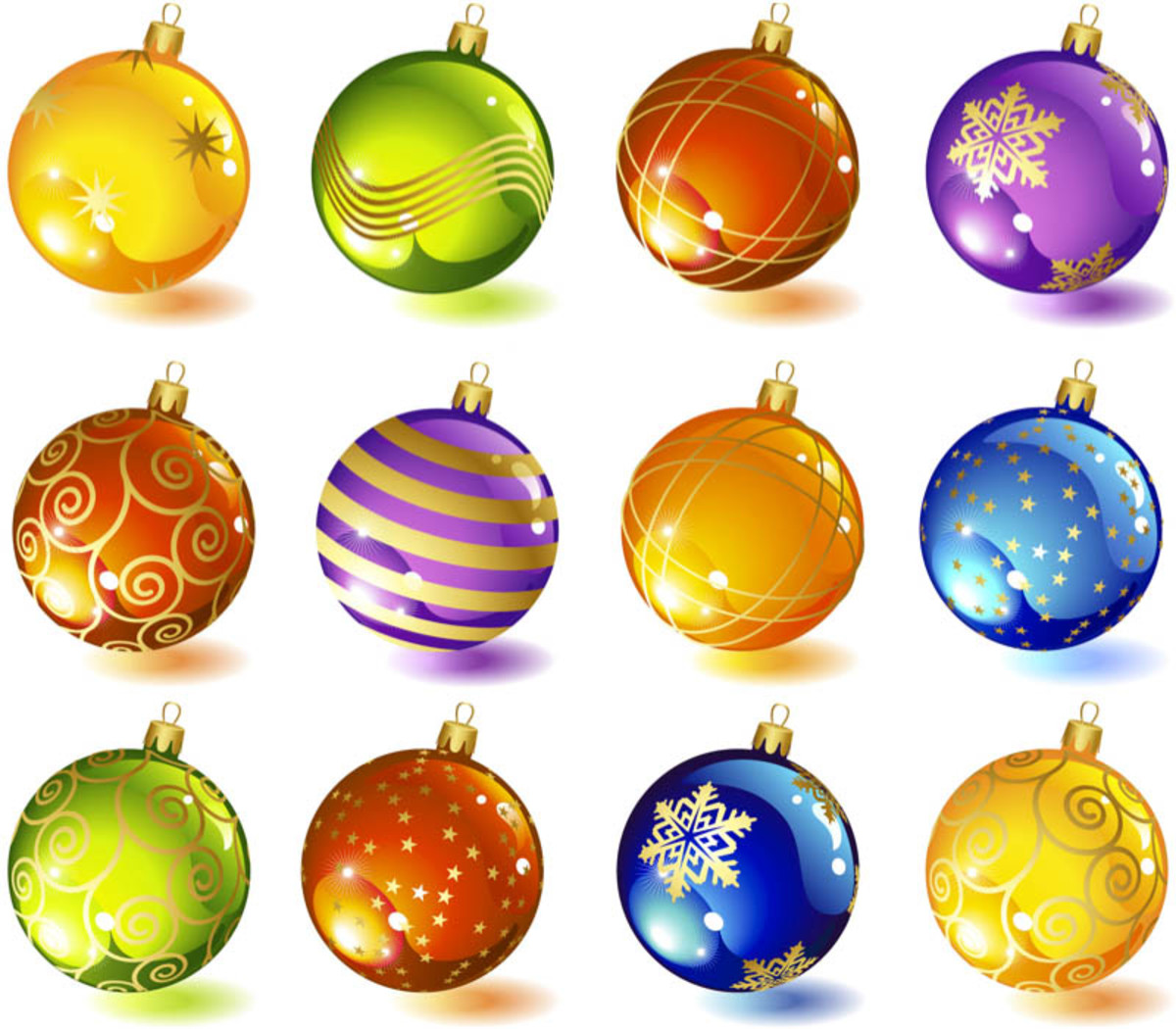 Pretty Ball Ornaments