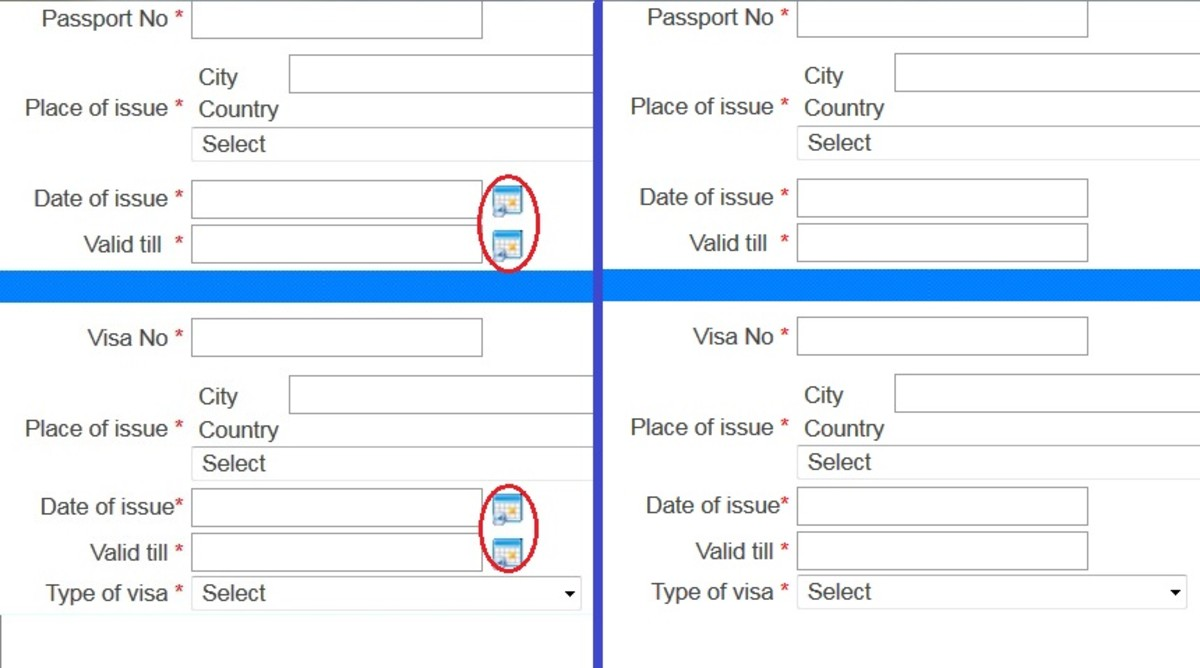 Automating the submission of India Bureau of Immigration
