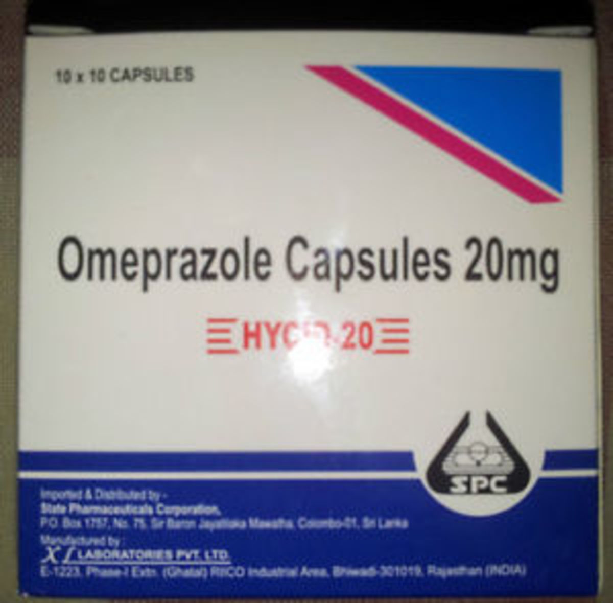 Uses and side effects of Hycid (Omeprazole)
