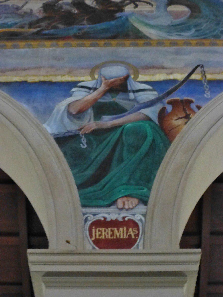 """Jeremiah was known as the """"Weeping Prophet"""""""