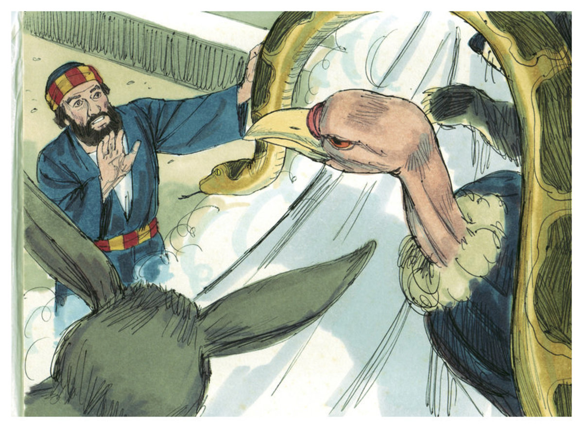 Bible Illustrations by Sweet Media