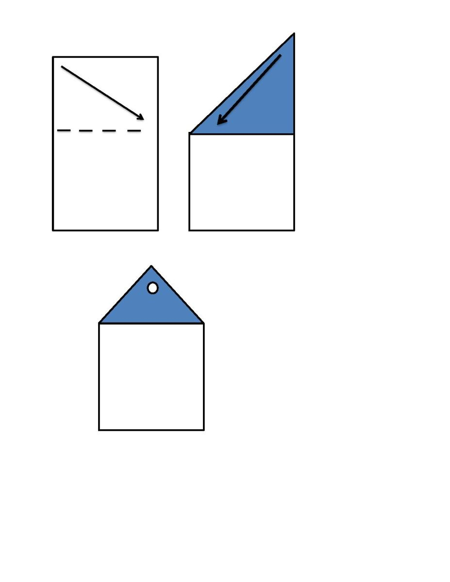 Fold Pattern for Web Strip to be Screwed On