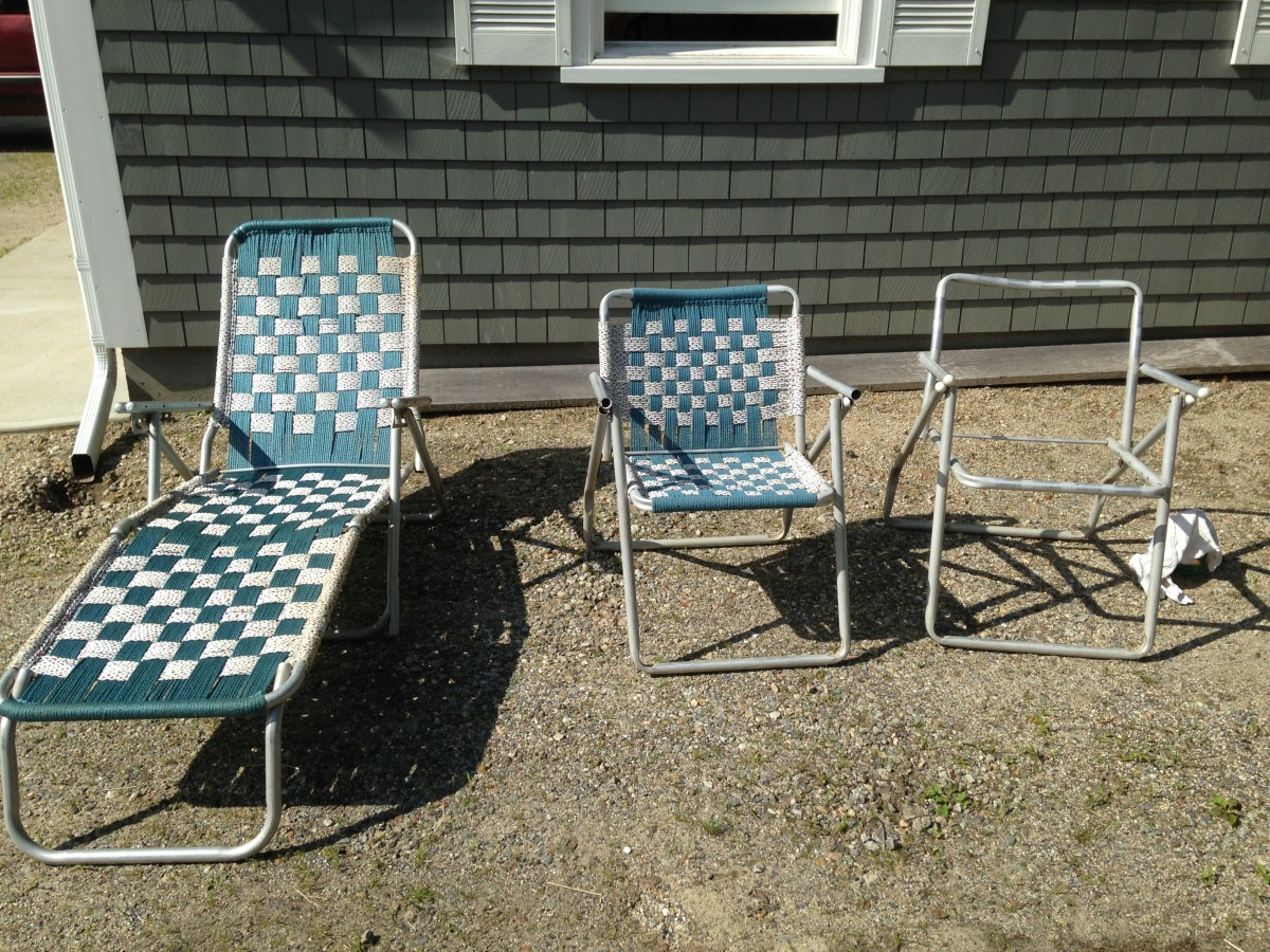 Found Vintage Lawn Chairs