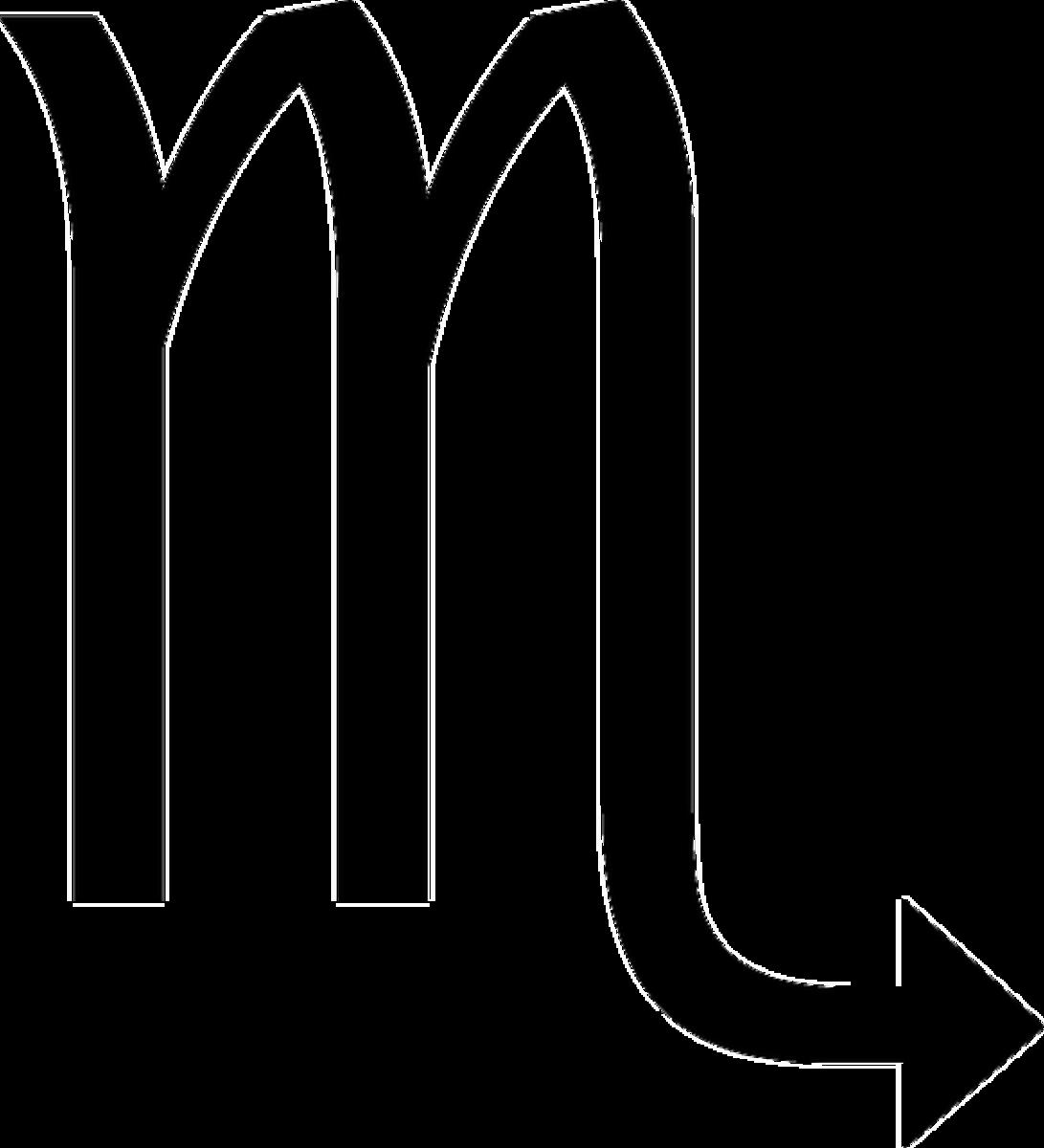 Scorpio's symbol
