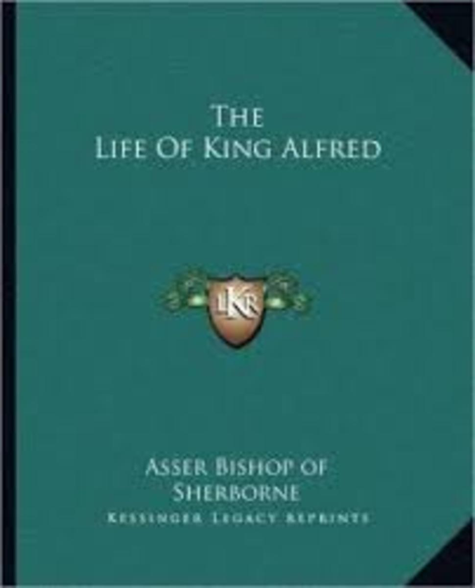 """""""Vita AElfredi"""" or """"The Life of King Alfred,"""" a biography written by Bishop Asser."""