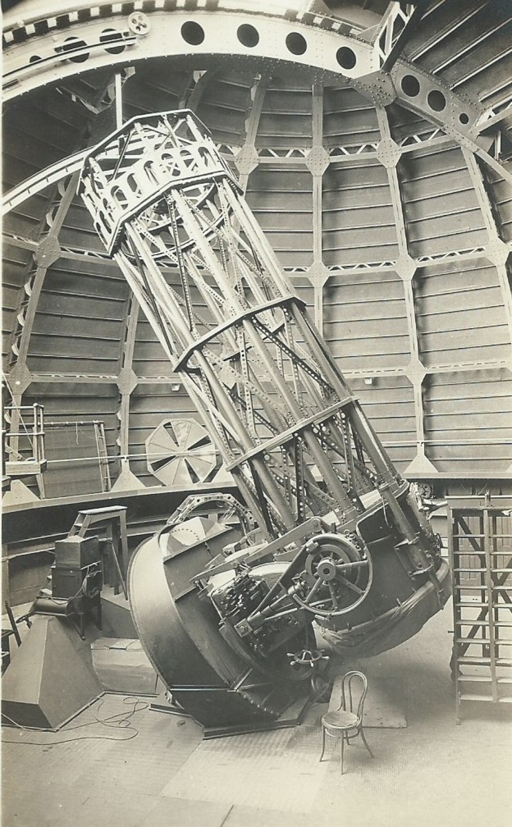 "60"" Mt Wilson Reflecting Telescope"