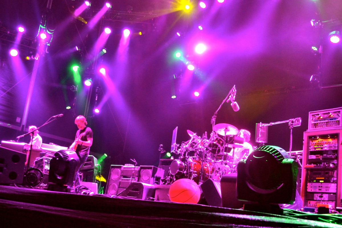 Phish in Denver 2014, Photo courtesy of MarqueeMag.com and Brad Yeakel Photography