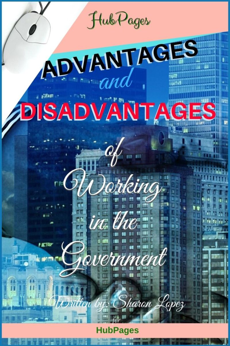 Advantages and Disadvantages of Working in the Government