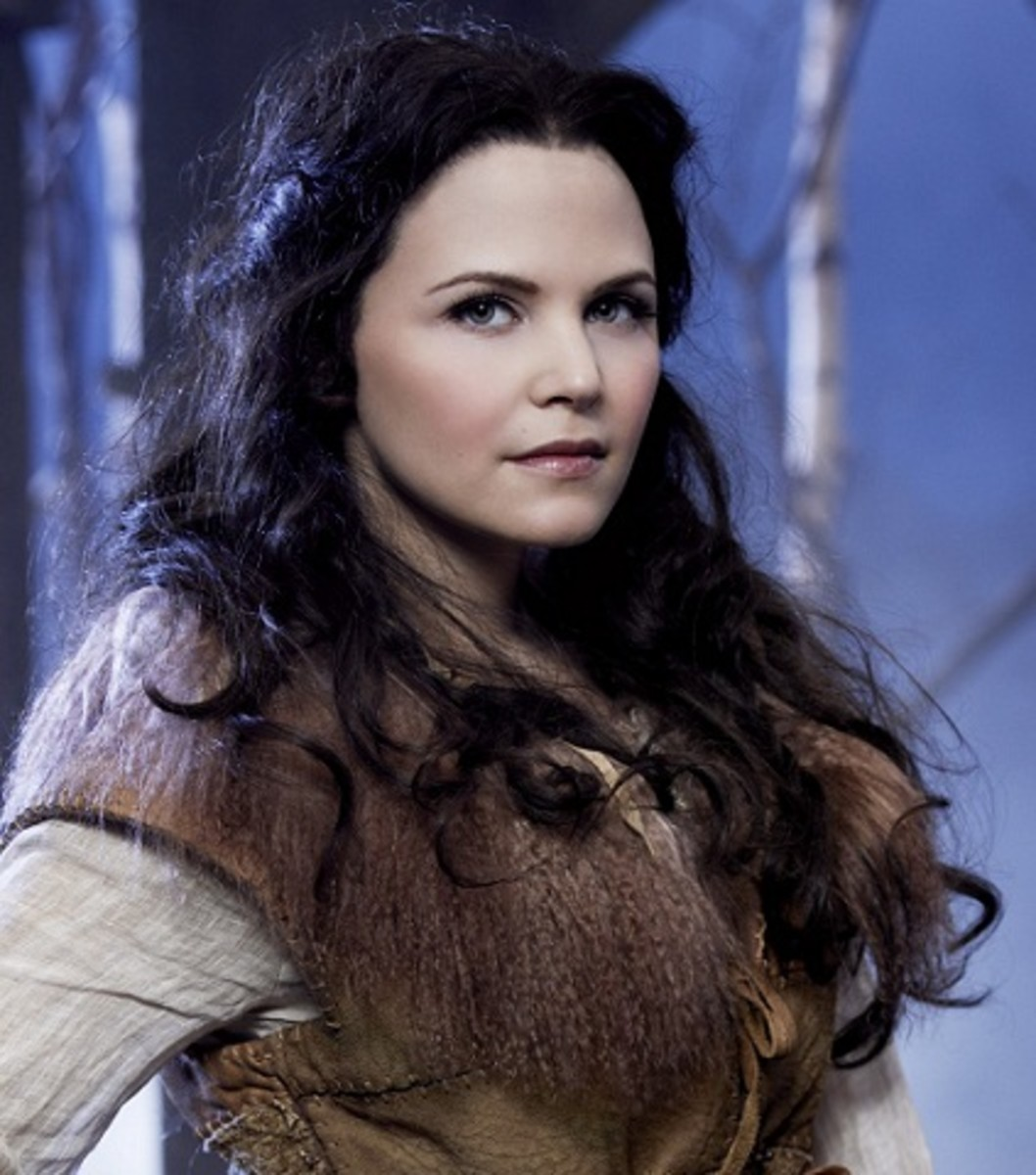 """Snow White Ginnifer Goodwin""  - Once Upon a Time. Licensed under ""fair use"" of copyrighted material in the context of Snow White via Wikipedia -"