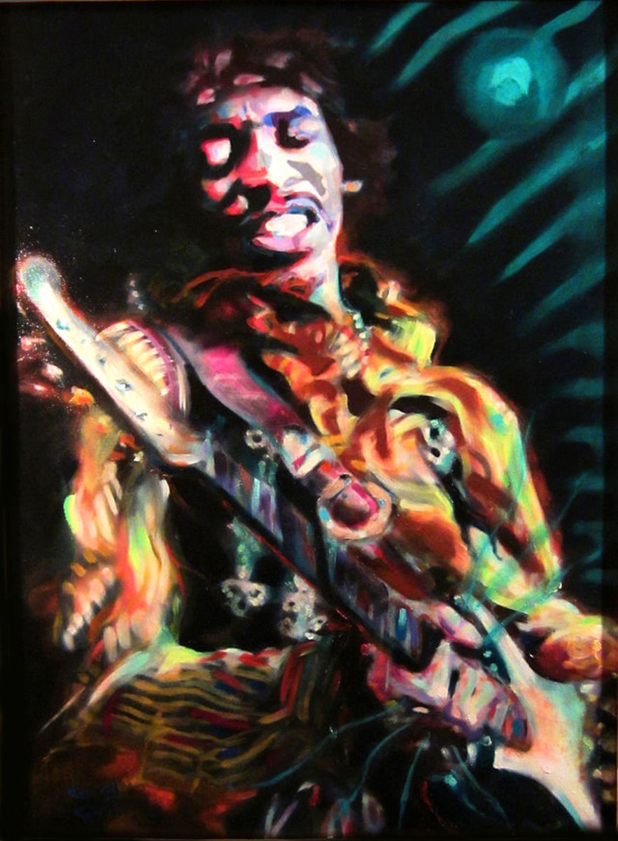 Jimi Hendrix, double  Sagittarius (Sun and Rising Sign) in Sagittarius Moon in Cancer
