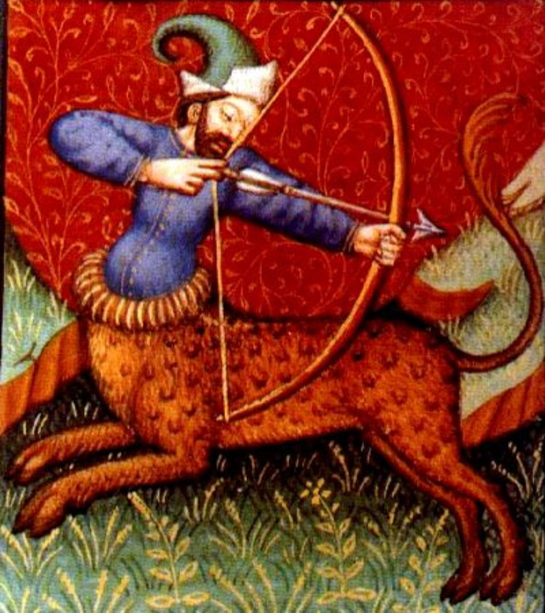 Sagittarius centaur with bow