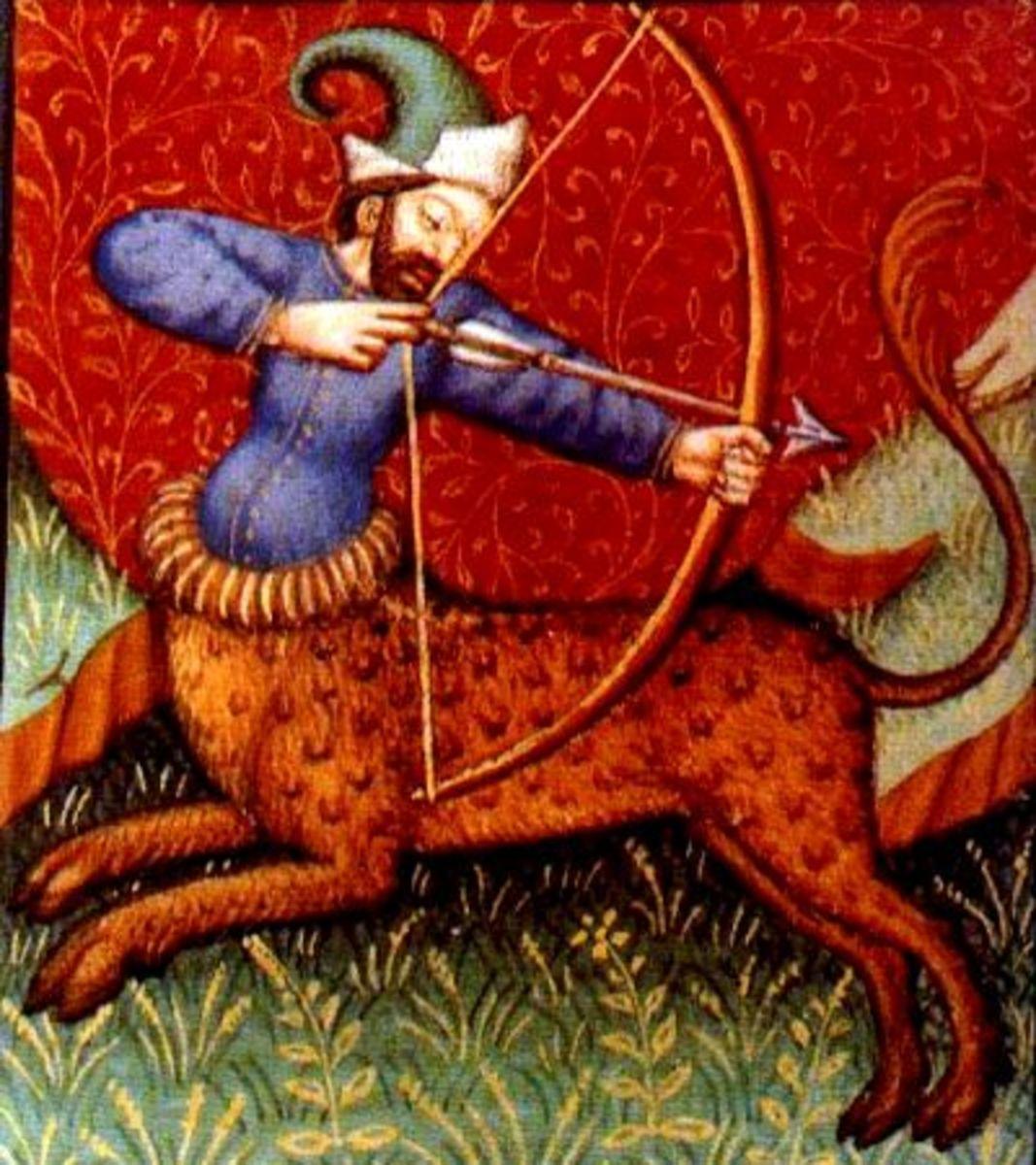 Sagittarius centaur with bow