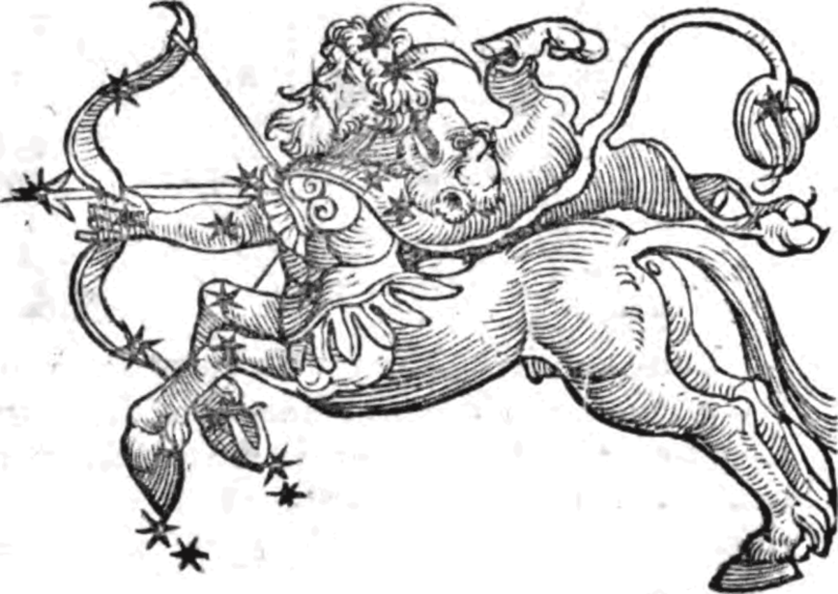 Sagittarius by Guido Bonatti