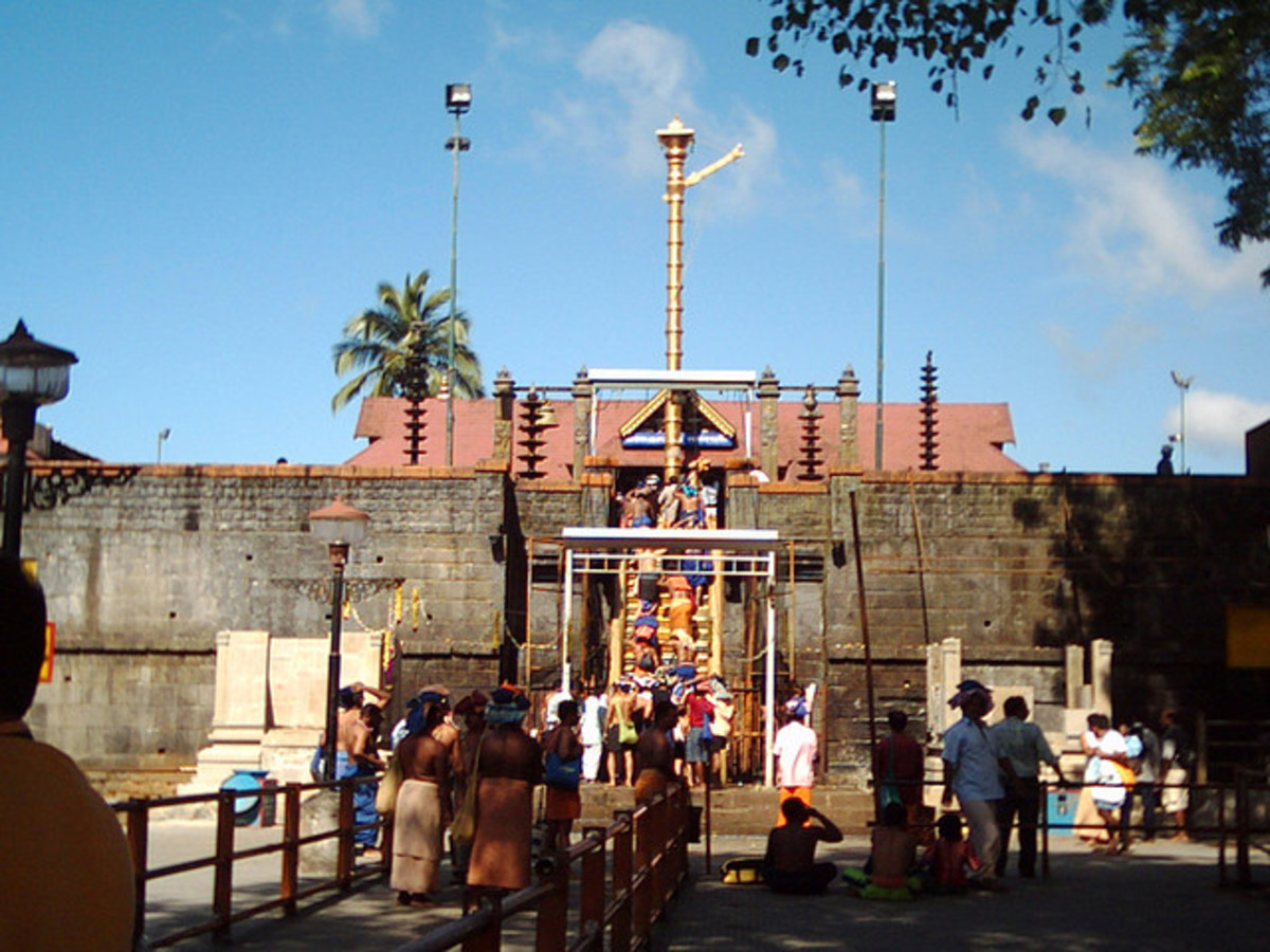 Sabarimala; the Ayyappa temple in the forests of Kerala