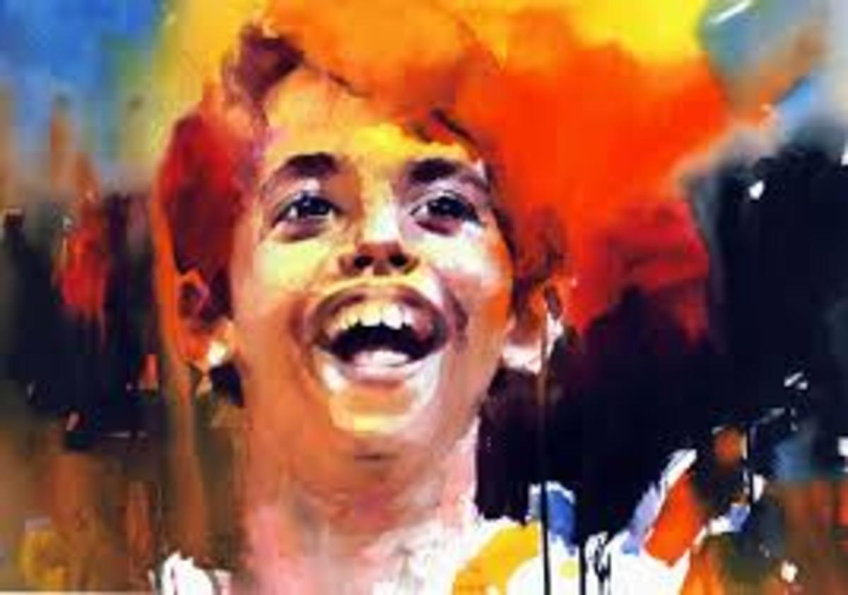 Water color painting by Samir Mondal used as the painting of  Nikumbh in Taare Zameen Par.