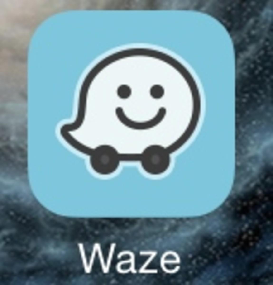 Waze App Icon