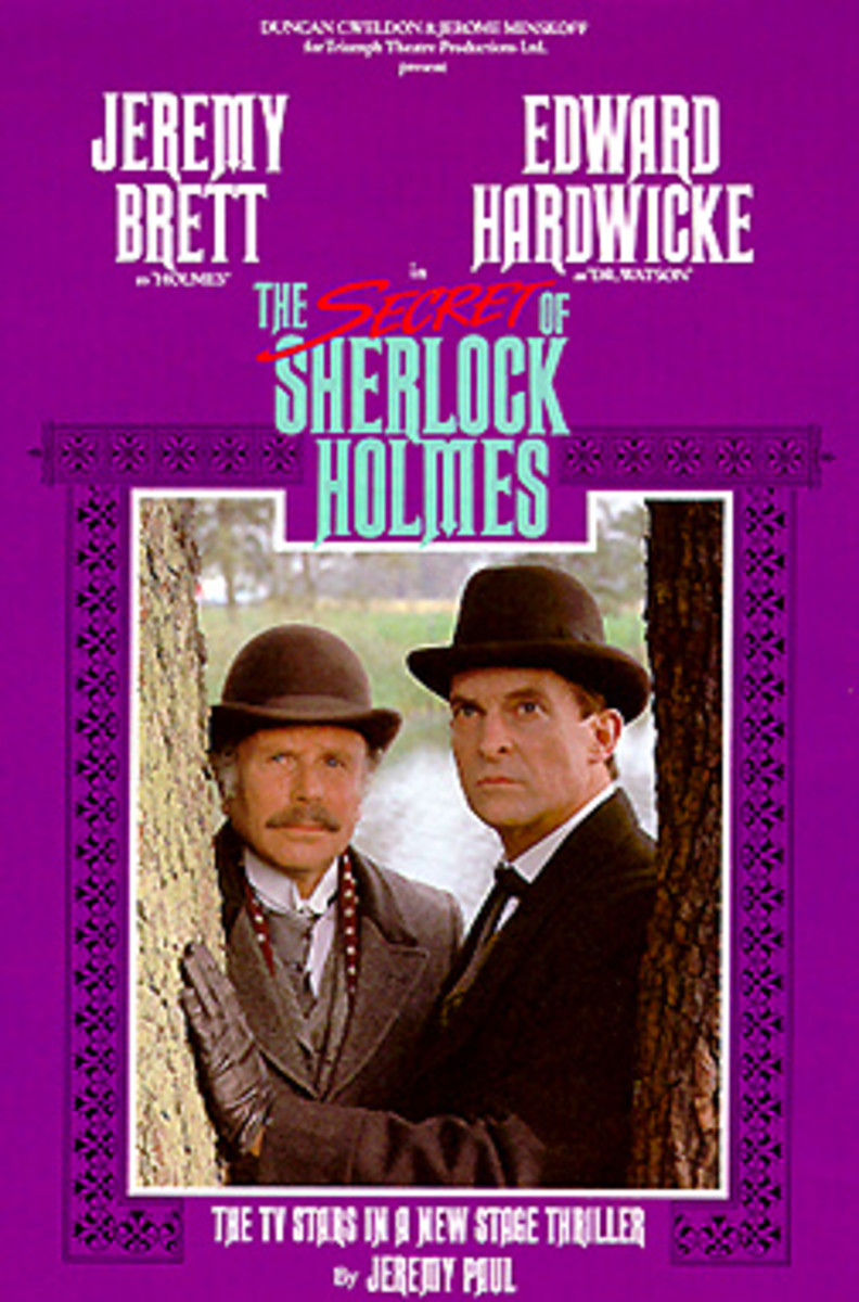 Poster from: The Secret of Sherlock Holmes