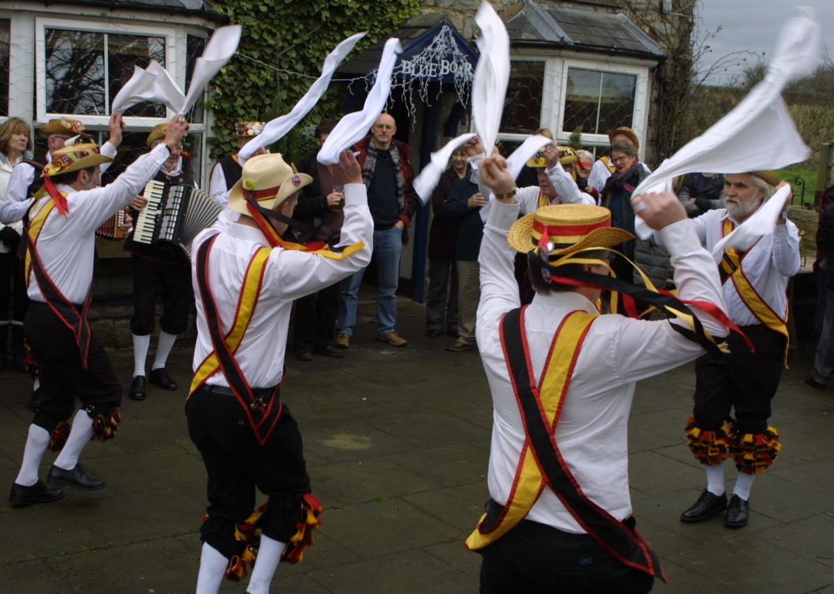 Morris Dancing at the Blue Boar