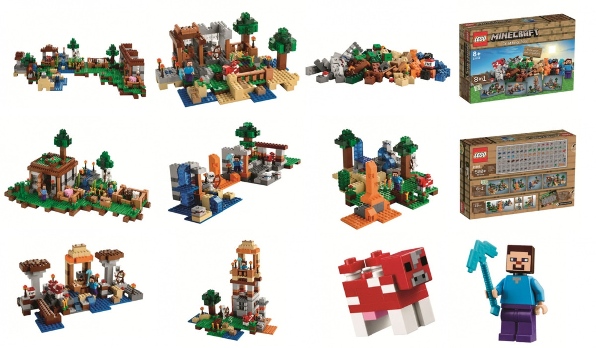 Choosing which is your favorite Lego Set from the Minecraft Game is a challenge