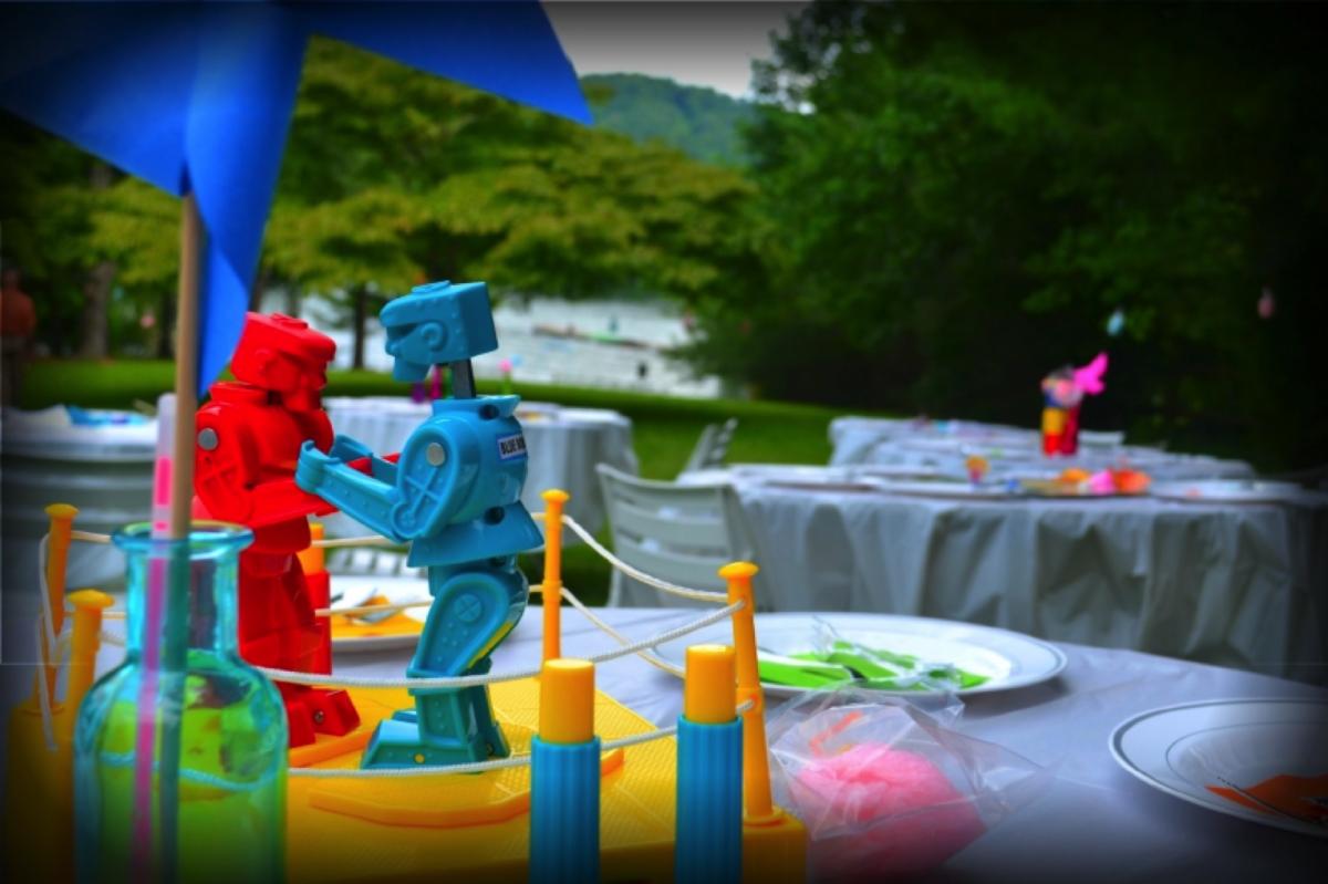 Rock 'Em Sock 'Em Robots was the Favorite game at my wedding.